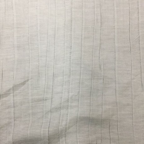 1 1/2 Yards Sheer Textured  Textured  Fabric