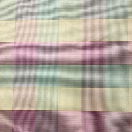 12 Yards Jacquard  Plaid/Check  Fabric