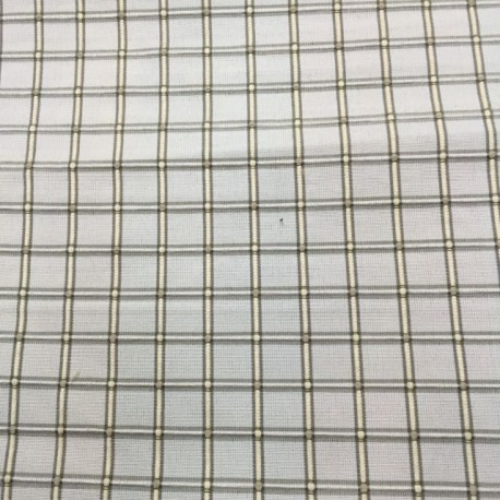 3 Yards Textured  Plaid/Check  Fabric