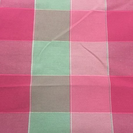 2 1/2 Yards Textured  Plaid/Check  Fabric