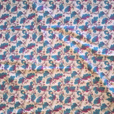 24 1/2 Yards Woven  Floral  Fabric