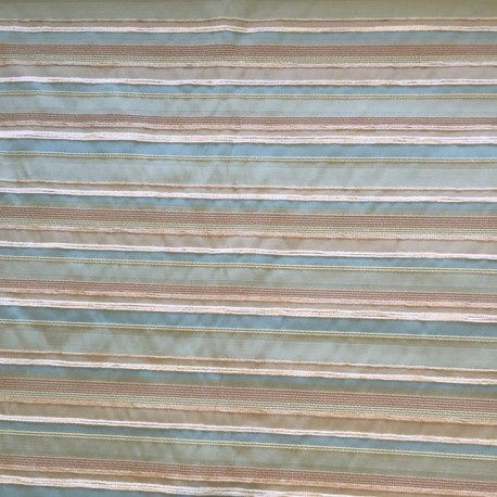 2 Yards Textured Woven  Stripes  Fabric