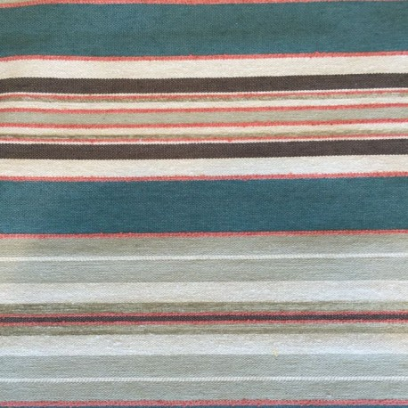 1 1/4 Yards Woven  Stripes  Fabric