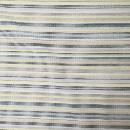 4 1/2 Yards Stripe  Woven  Fabric