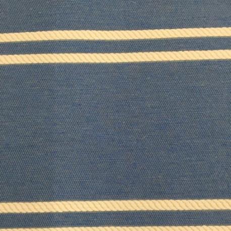 5 1/2 Yards Stripe  Canvas/Twill  Fabric