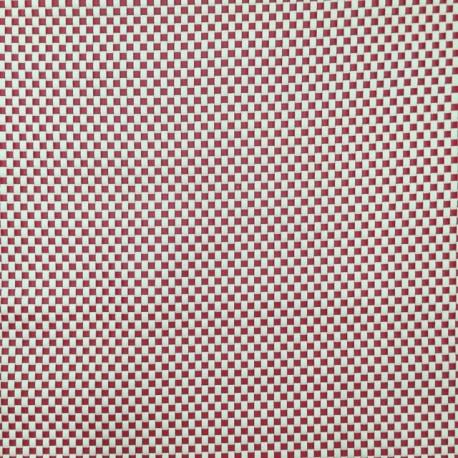 1 Yard Plaid/Check  Vinyl  Fabric