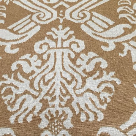 2 3/4 Yards Damask  Print  Fabric