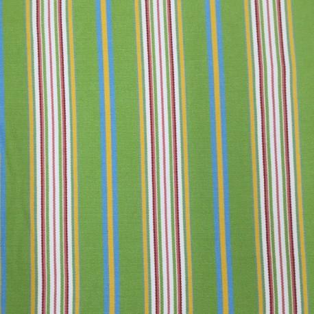2 3/4 Yards Stripe  Canvas/Twill  Fabric