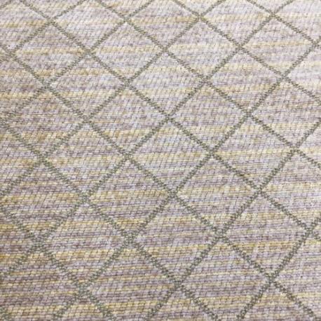 1 Yard Diamond  Chenille Textured  Fabric