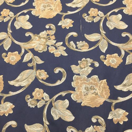 8 1/4 Yards Floral  Woven  Fabric