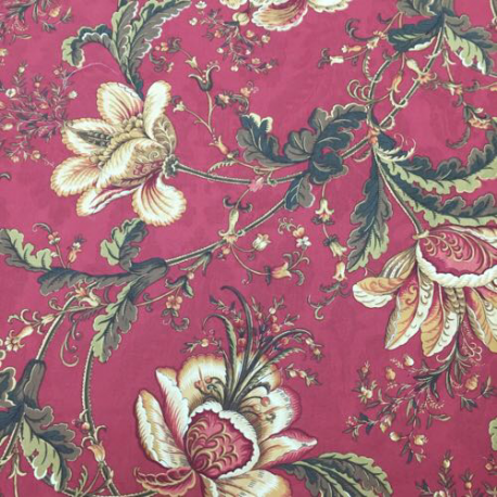 15 1/2 Yards Floral  Print  Fabric
