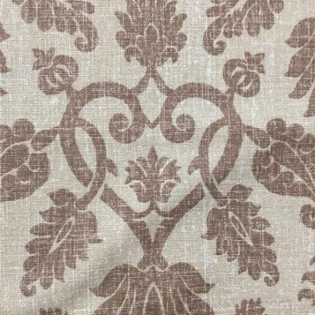 8 1/2 Yards Damask  Woven  Fabric