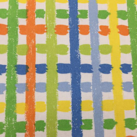 1 Yard Geometric Novelty  Print  Fabric