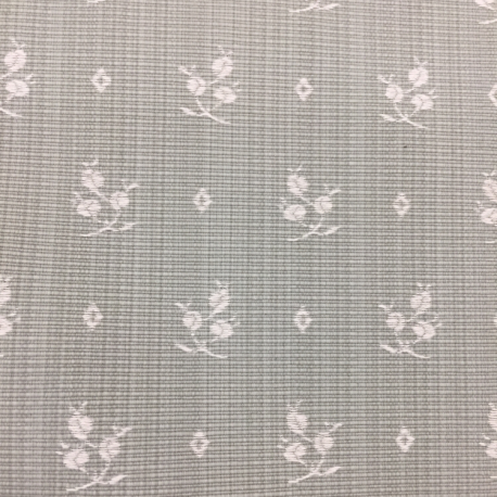 3 Yards Floral  Woven  Fabric