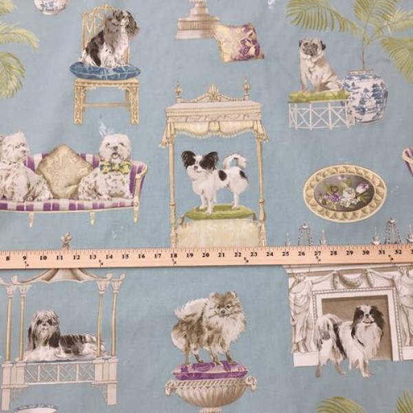 6 yards animal children print fabric for Childrens fabric prints