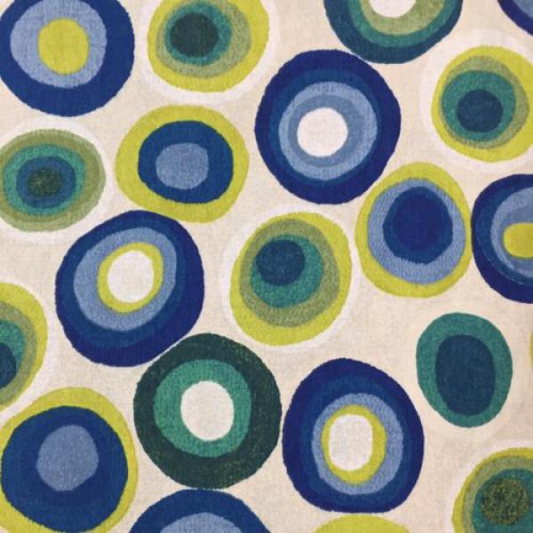2 1 2 yards children geometric print fabric for Children s upholstery fabric