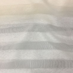 4 Yards Sheer Striped  Stripes Textured  Fabric