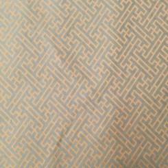 6 1/4 Yards Jacquard Satin  Geometric  Fabric