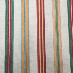 8 1/4 Yards Basket Weave Print  Stripes  Fabric