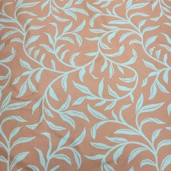 4 Yards Jacquard Textured  Floral  Fabric
