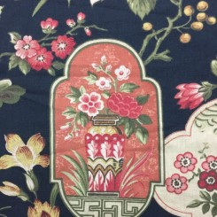 7 Yards Print  Floral Nature  Fabric
