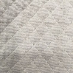 1 3/4 Yards Matelasse  Diamond  Fabric