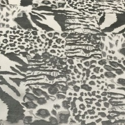 6 Yards Jacquard  Animal  Fabric