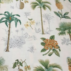 4 1/4 Yards Print  Floral  Fabric