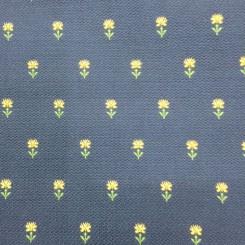 4 1/2 Yards Jacquard  Floral  Fabric