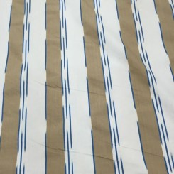 7 1/4 Yards Striped  Textured  Fabric