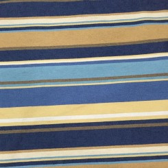 4 Yards Striped  Textured  Fabric