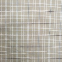 18 1/2 Yards Textured  Plaid/Check  Fabric