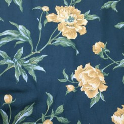 29 1/2 Yards Print  Floral  Fabric