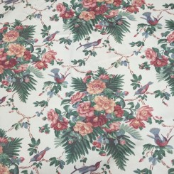 18 1/4 Yards Print  Floral  Fabric