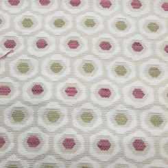 1 3/4 Yards Textured  Polka Dots  Fabric
