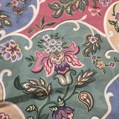 26 Yards Print  Floral  Fabric