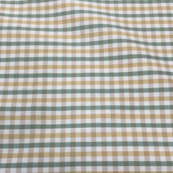 5 Yards Textured  Plaid/Check  Fabric