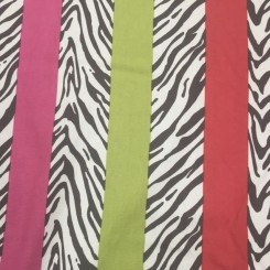 18 Yards Textured  Animal Stripes  Fabric