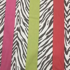 18 Yards Textured  Animal Stripes  Fabric