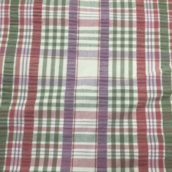 12 1/4 Yards Textured  Plaid/Check  Fabric