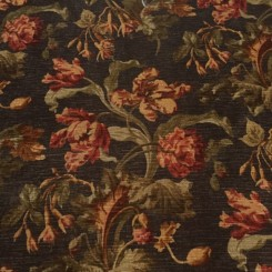 10 Yards Chenille Print  Floral  Fabric