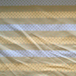 16 Yards Woven  Polka Dots Stripes  Fabric
