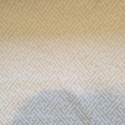 6 1/2 Yards Woven  Geometric  Fabric