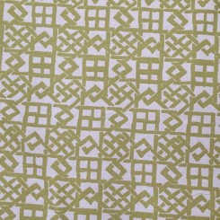 5 1/2 Yards Woven  Geometric  Fabric