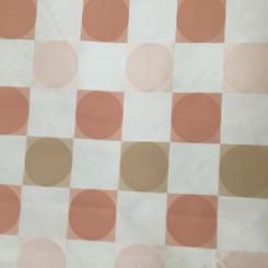 6 1/2 Yards Woven  Plaid/Check Polka Dots  Fabric