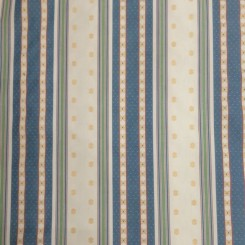 41 1/2 Yards Polka Dots Stripe  Woven  Fabric