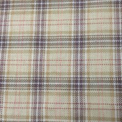 2 1/4 Yards Plaid/Check  Basket Weave  Fabric