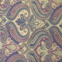 5 1/2 Yards Paisley  Woven  Fabric