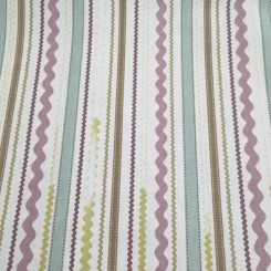 6 3/4 Yards Stripe  Print  Fabric