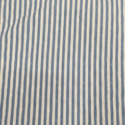 1 3/4 Yards Diamond Stripe  Embroidered  Fabric